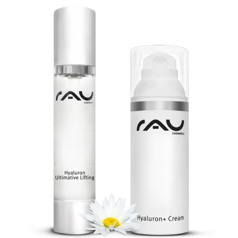 """RAU Hyaluron + Cream"" 50 ml with UV Filters, ""RAU Hyaluron Ultimative Lifting"" 50 ml"